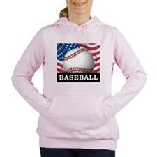 American Baseball Women's Hooded Sweatshirt