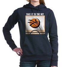 "Basketball ""Take It To The Ne Women's Hooded"