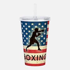 Grunge USA Boxing Acrylic Double-wall Tumbler