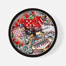 Cute Las vegas Wall Clock