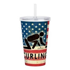 Grunge USA Curling Acrylic Double-wall Tumbler