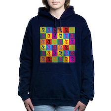 Pop Art Cycling Women's Hooded Sweatshirt