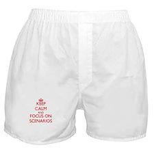 Unique Sketch book Boxer Shorts