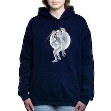 Stylized Fencing Women's Hooded Sweatshirt