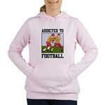 Addicted To Football Women's Hooded Sweatshirt