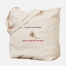 What a cute little pit bull! Tote Bag