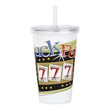 Jackpot 777 Acrylic Double-wall Tumbler