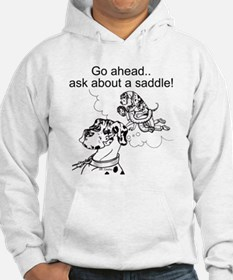 NH Go Ahead Ask Hoodie Sweatshirt