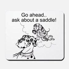 NH Go Ahead Ask Mousepad