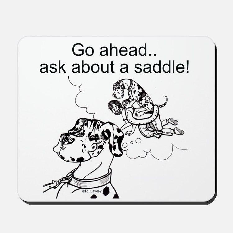 NH Go Ahead Ask Mousepad