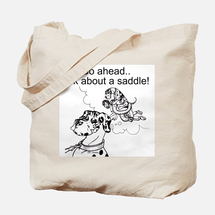 NH Go Ahead Ask Tote Bag