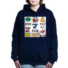 Slot Machine Women's Hooded Sweatshirt