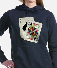 Blackjack Women's Hooded Sweatshirt