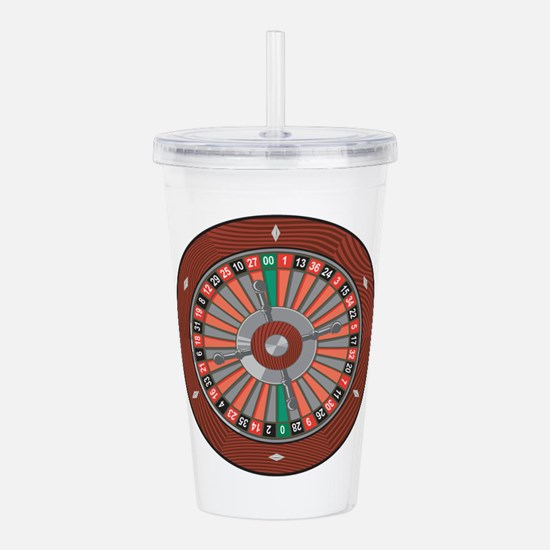 Roulette Acrylic Double-wall Tumbler