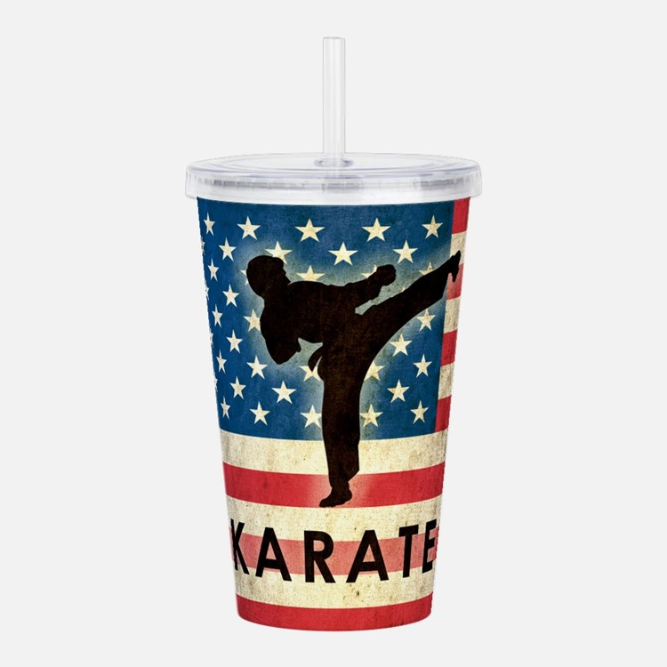 Grunge USA Karate Acrylic Double-wall Tumbler
