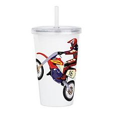Motorcross Acrylic Double-wall Tumbler