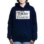 Rugby Fanatic Women's Hooded Sweatshirt