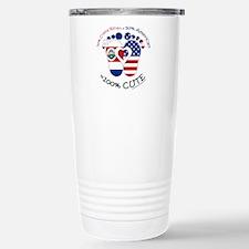 Costa Rican American Ba Thermos Mug