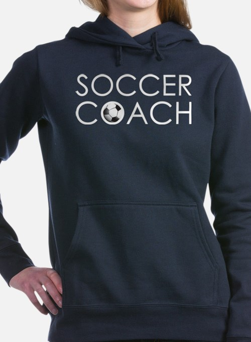 Soccer Coach Women's Hooded Sweatshirt