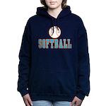 Softball Women's Hooded Sweatshirt