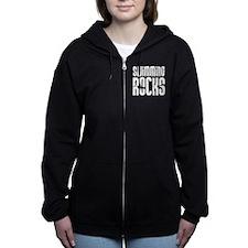 Swimming Rocks Women's Zip Hoodie