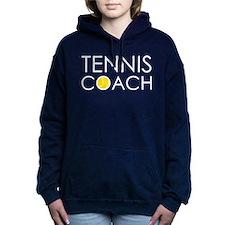 Tennis Coach Women's Hooded Sweatshirt