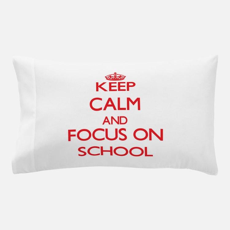 Cute Alma mater Pillow Case