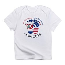 Costa Rican American Baby Infant T-Shirt