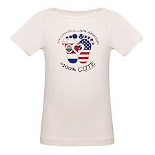 Costa Rican American Baby T-Shirt