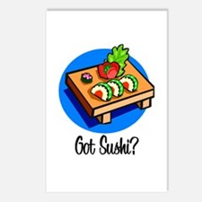 Got Sushi? Postcards (Package of 8)