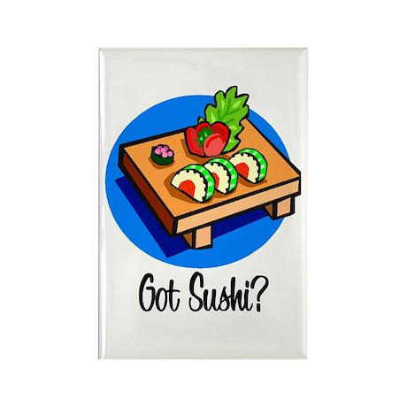 Got Sushi? Rectangle Magnet (10 pack)