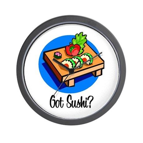 Got Sushi? Wall Clock