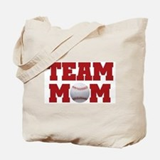 Baseball Team Mom Tote Bag