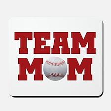 Baseball Team Mom Mousepad