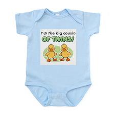 Cool Big cousin of twins Infant Bodysuit
