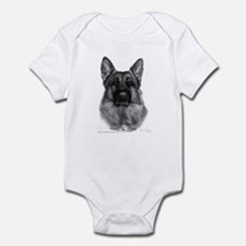 Rikko, German Shepherd Infant Bodysuit