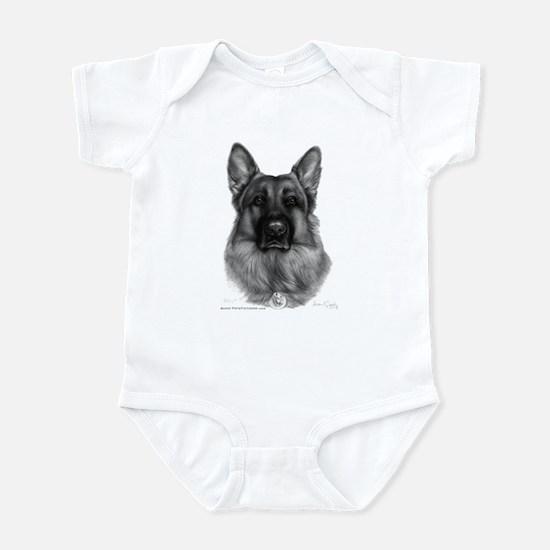 Rikko, German Shepherd Infant Bodysuit