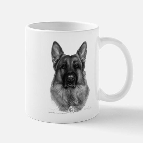 Rikko, German Shepherd Mug