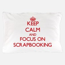 Unique Scrapbooking keep calm Pillow Case