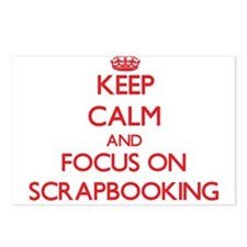 Unique Scrapbooking keep calm Postcards (Package of 8)