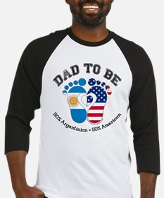 Argentinian American Dad to Be Baseball Jersey