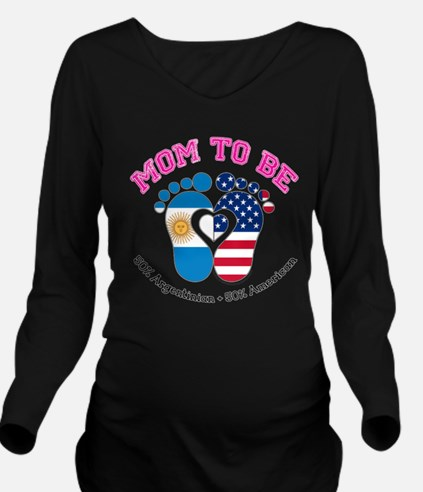 Argentinian American Mom to Be Long Sleeve Materni