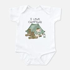 I Love Camping (Boy) Infant Bodysuit