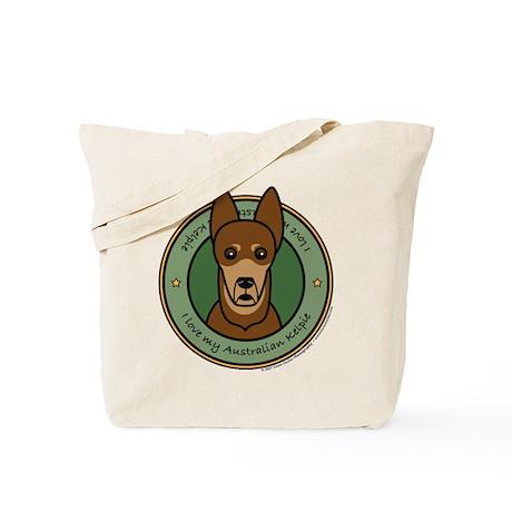 Love My Kelpie Tote Bag