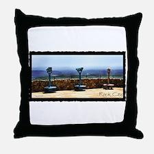 Rock City Viewers Throw Pillow