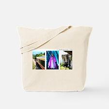 Rock City, Ruby Falls, Inclin Tote Bag