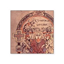 "8th cent.Arrest of Christ.  Square Sticker 3"" x 3"""