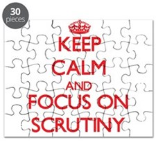 Cool Scrutiny Puzzle