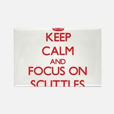 Keep Calm and focus on Scuttles Magnets