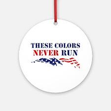 Colors Never Run Ornament (Round)